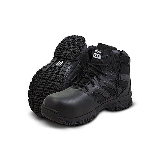 "Original S.W.A.T. Force 6"" Side Zip Men's Tactical Boot - Black, 7R"