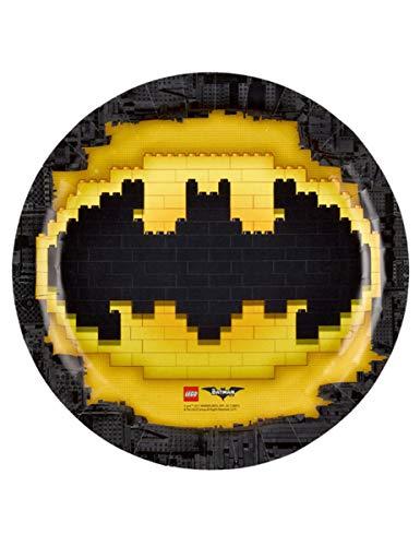 amscan–9901822–Teller aus Pappe Batman, 23cm