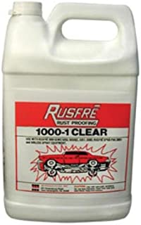 clear rust proofing