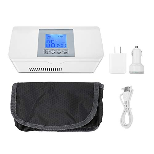Iconische koelkast koelkast koelkast koelkast draagbare Insulum-koelkast Medical Travel Cooling Case voor auto, op reis en thuis