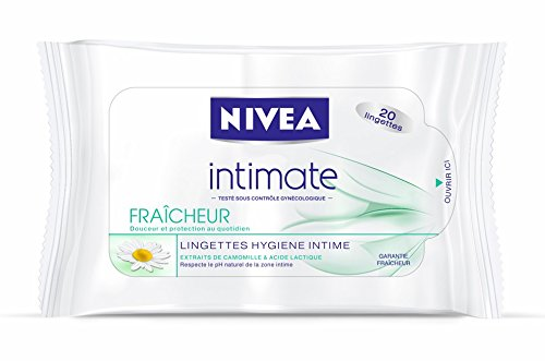 Nivea Lingette hygiène intime Fraicheur x20 - Lot de 2