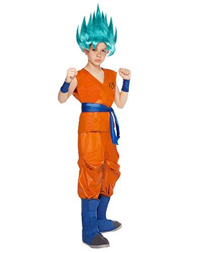 Spirit Halloween Kids Goku Costume - Dragon Ball Z Resurrection F Orange