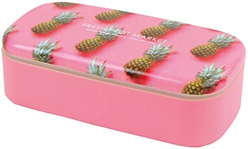 L'ABSURDE 日本製 お弁当箱 500ml フレッシュ フルーツ マーケット スクエア パイナップル