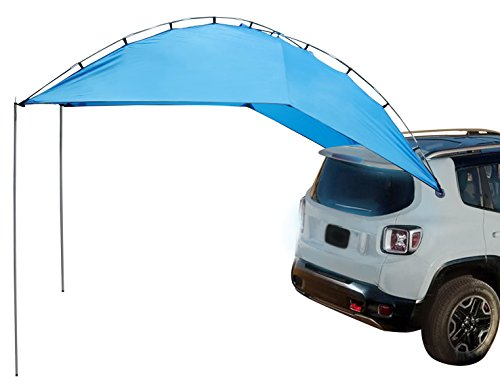 XCAR Instant Portable SUV Tailgate Tent, Multi Use Awning,Outdoor Waterproof Canopy Tent for SUV, Mini Van,Hatchback,Camper Offers up to 79 sqft Shade
