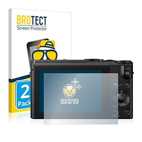 BROTECT 2X Entspiegelungs-Schutzfolie kompatibel mit Panasonic Lumix DMC-LX15 Bildschirmschutz-Folie Matt, Anti-Reflex, Anti-Fingerprint