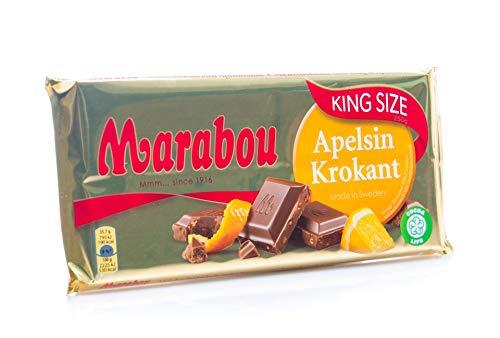 Marabou Apelsinkrokant 3 x 200 G - Schokolade Apfelsinenkrokant (3er Pack)