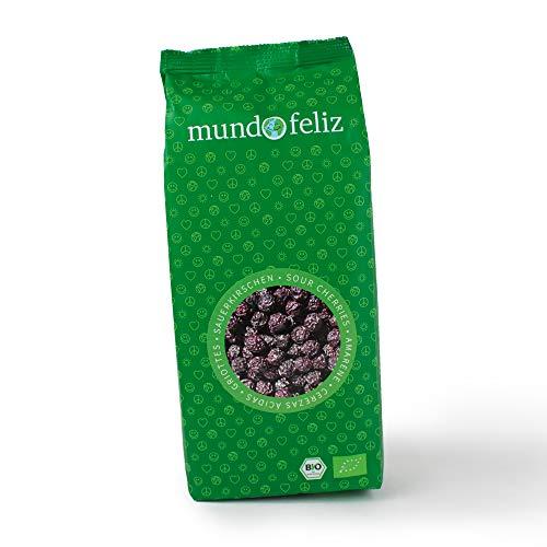 Mundo Feliz Getrocknete Sauerkirschen aus Bio-Anbau, entsteint, 2 x 500 g