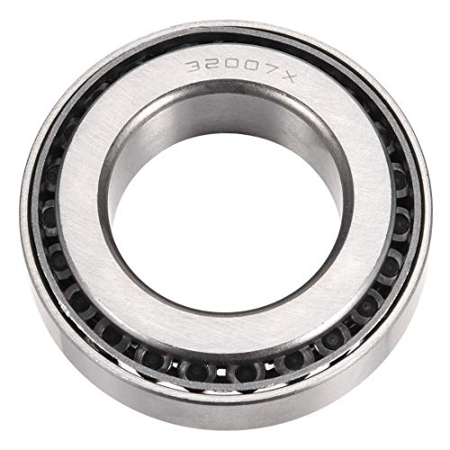 uxcell 32007X Tapered Roller Bearing Cone and Cup Set, 35mm Bore 62mm OD 18mm Thickness