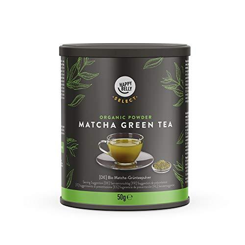 Amazon Brand- Happy Belly Select Green Tea Powder Matcha 1X50 gr- Tea Leaves/Loose
