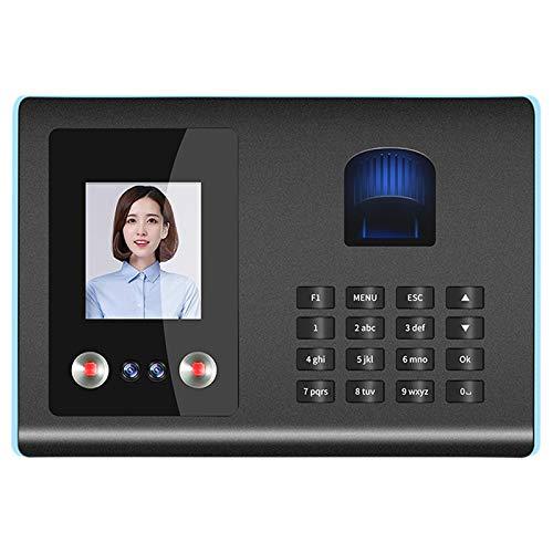 YeBetter Intelligente Anwesenheits Maschine Gesicht Fingerabdruck Passwort Erkennung Zeit Schaltuhr für Mitarbeiter Zeit Schaltuhren (EU Stecker)
