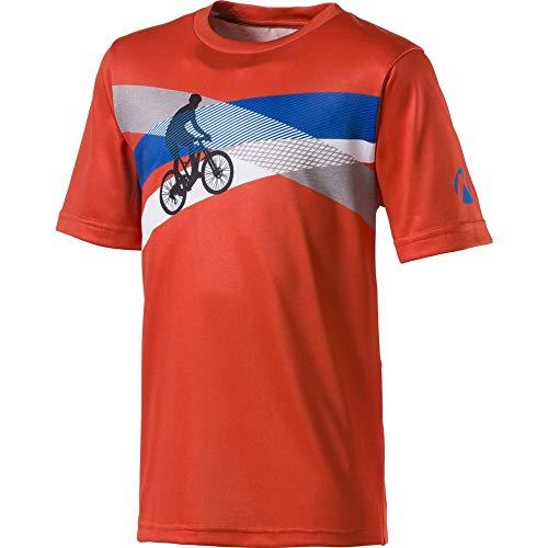 Nakamura - Radsport-Trikots & -Shirts für Jungen in Spicy Orange, Größe 164