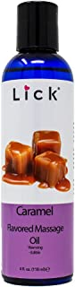 Caramel Flavored Massage Oil for Massage Therapy - Relaxing Muscle Massage for Men and Women with Natural Vitamin e Oil wi...