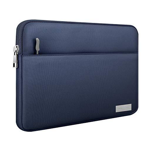 MoKo 9-11 Inch Sleeve Tasche, Schutzhülle mit Reißverschluss 2 Tasche Tablet Polyesterfaser Hülle Kompatibel mit iPad Pro 11 2021,iPad 8 10.2,iPad Air 4 10.9,iPad Air 3 10.5