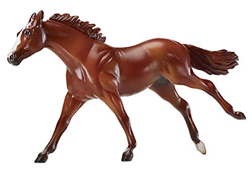 Breyer Stablemates Justify Horse Model Toy (1: 32 Scale), Brown