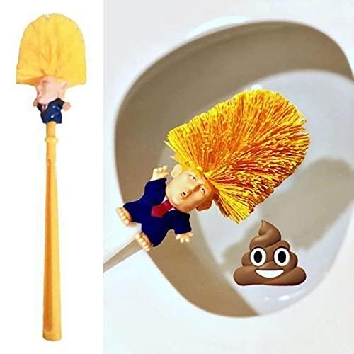 Donald Trump Scopino per WC - Spazzole Rendi la Tua Toilette Grande di Nuovo Divertente Regalo...