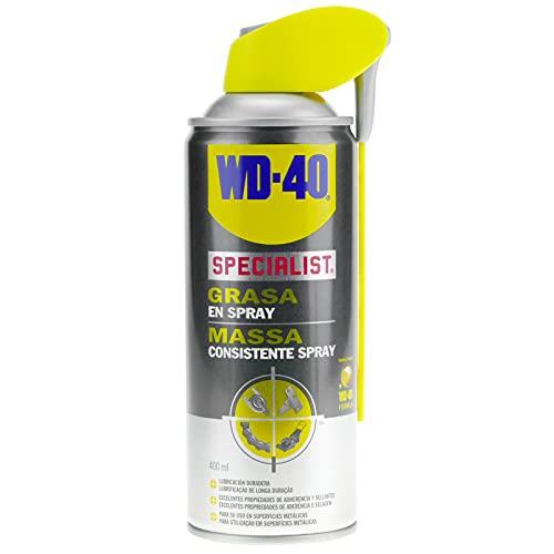 WD-40 Specialist - Grasa En Spray - Pulverizador Doble Spray 400 ml