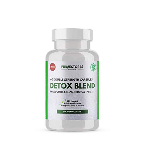 Detox Blend Diet Weight Loss Tablets - 60 Halal Fat Loss Capsules - High Strength Adult Slimming Food Supplement Pills for Men and Women by Primestores