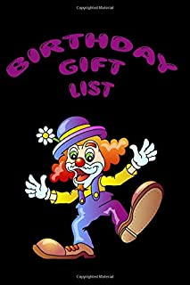 Birthday Gift List: Keep track of all the birthday gifts you buy