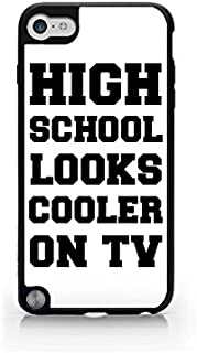 High School Looks Cooler On TV - Typography - Hipster - Swag - iPod Touch Gen 5 Black Case (C) Andre Gift Shop