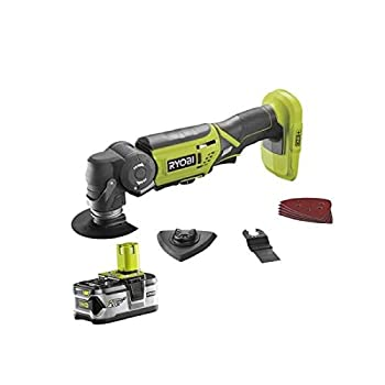 Outil multifonctions RYOBI 18V OnePlus LithiumPlus - 1 batterie 4.0Ah - 1 chargeur rapide - R18MT-140S