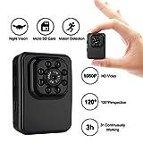 DINGYUFA Mini Camera WiFi P2P Mini Sports DVR Visione Notturna Microcamera Wireless Hotspot Incorporato Videocamera DV Videocamera per Escursioni a Cavallo