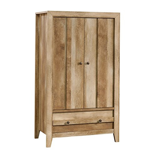 Sauder Dakota Pass Armoire, Craftsman Oak finish