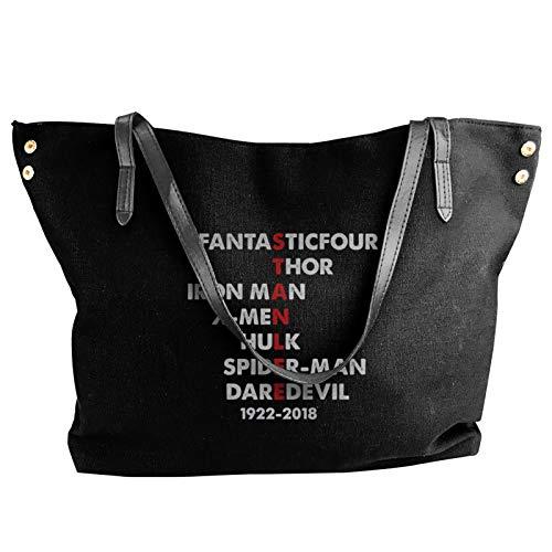 Stan Lee Fashion Canvas Shoulder Bag For Women