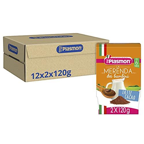 Plasmon Merenda Latte al Cacao 24x120g