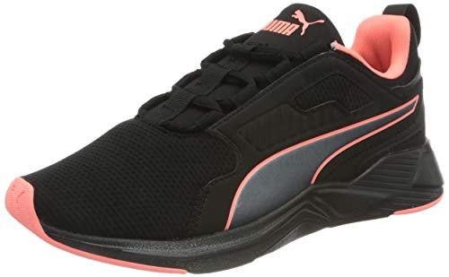 PUMA Disperse XT Pearl WNS, Zapatillas de Gimnasio para Mujer, Negro Black/Nrgy Peach, 39 EU