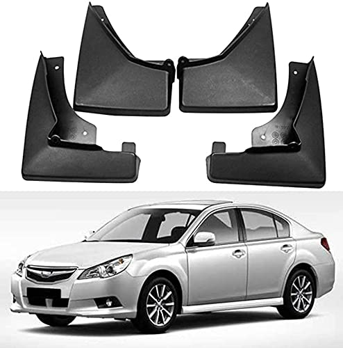 4 Piezas Coche Faldillas Antibarro Para Subaru Legacy 2010 2011 2012 2013,2015 2016 2017 2018 2019, Contra Salpicaduras Guardabarros De Coche Accesorios