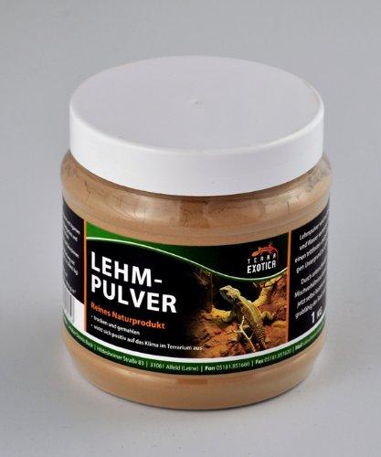 Terra Exotica Lehmpulver - braun 1 kg in Dose