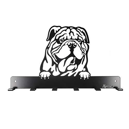 Laperino *Englische Bulldogge *Schicke und praktische Hundegarderobe Old English Bulldog Breit - Leinengarderobe