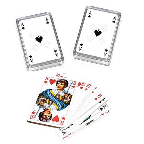 2 Decks Set Russian Classic Durak Card Game Play 36 Playing Cards in Deck Plastic Case Дурак Игральные Карты