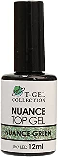 T-GEL COLLECTION ティージェル ニュアンストップジェル(ノンワイプ) ニュアンスグリーン