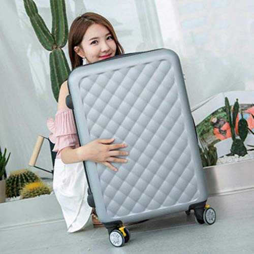 LHXS Travel suitcase set Rolling Luggage set Spinner trolley case wheel Woman Cosmetic,3,26'