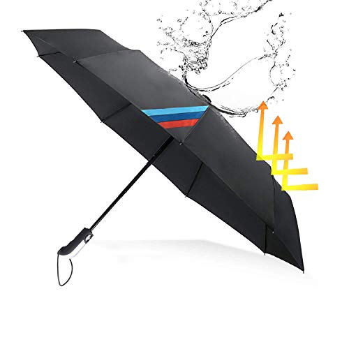 OYADM UV Windproof Sun Umbrella,10 Ribs Automatic Open/Close Umbrella,Fast Drying Waterproof Reinforced,With exquisite packaging