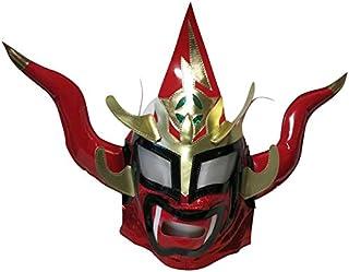 【プロレス マスク】獣神サンダー・ライガー レプリカマスク 髪無頭開 レッド ルチャリブレ プロレス