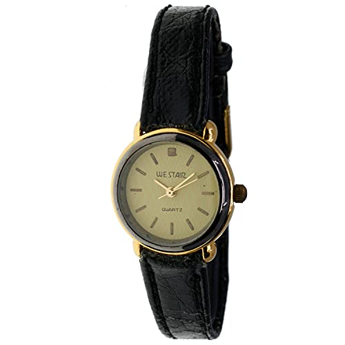 Christian Gar Cg-18938 Reloj Analógico para Mujer Caja De Dorado Esfera Color Amarillo