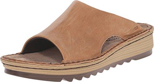 Naot Footwear Women's Ardisia Sandals Latte Brown Leather 7 M US