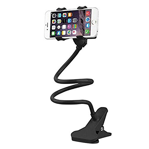 Kentop Handy Halterung, Flexibler Handyhalterung Bett Handy Halter Tisch mit Schwanenhals Langer Arm Handy Ständer