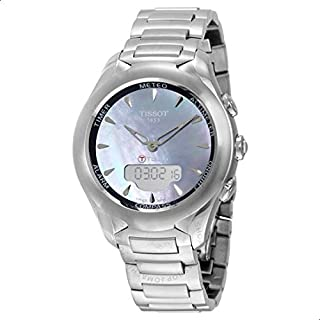 Ladies Tissot T-Touch Solar Alarm Chronograph Solar Powered Watch T0752201110101, Analog Display, Quartz Movement