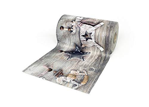 BIANCHERIAWEB Tappeto Passatoia Antiscivolo con Stampa Digitale Dis. Alce Natale 50x115 Alce