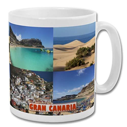 Gran Canaria Spain - Taza de recuerdo de 10 oz