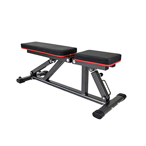 XXY Ventas Directas Weight Weight Lift Bed Taburete Dumbbell Sit up Equipos De Fitness Home Multifuncional Fitness Supine Board (Color : Black)