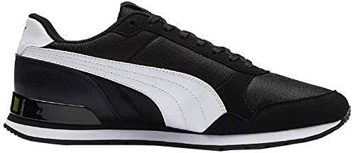 Puma Unisex-Erwachsene ST Runner v2 Mesh Sneaker, Schwarz Black White, 39 EU