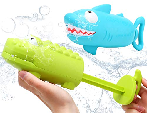 JoyGrow Water Blaster 2Pack Water Squirts Summer Swimming Pool Beach Garden Water Fighting Game Party Favor Toy for Boys Girls Adult