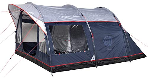 FHM Libra 4 Tunnel Tent 4 Person, 4 Man Tent, 2 Compartments, 2 Royal Bedroom, Waterproof 4000 mm / 10000 mm, Outdoor Camping