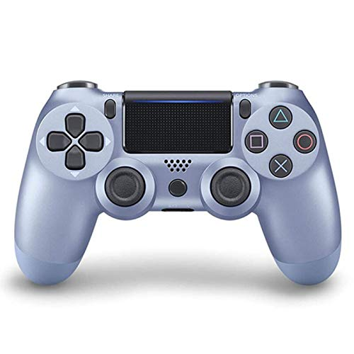 GLIANG Für Ps4 Controller ,Bluetooth Wireless Controller Für PS4 / PS4 Pro / PS4 Slie/Playstation 4 Mit Doppelter Vibration,Blu Fluorescente
