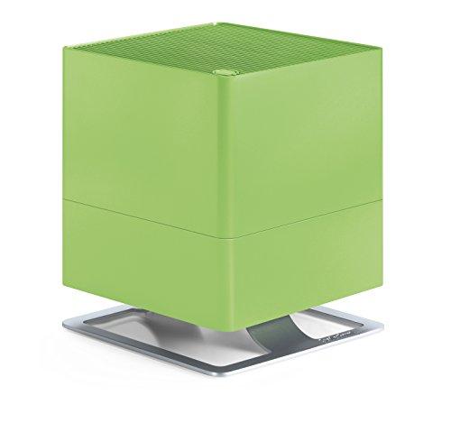 Stadler Form Luftbefeuchter Oskar, energiesparender Raumbefeuchter für Räume bis 50 m², Verdunster mit Abschalt-Automatik, dimmbare LEDs, sehr leise, lime
