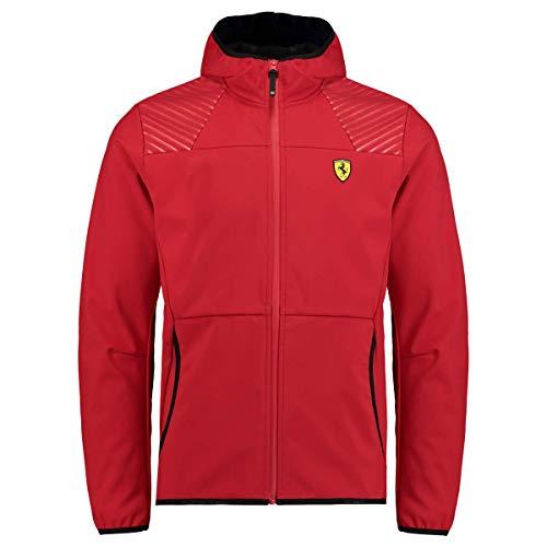 Ferrari Herren SF Softshelljacke, Rot, M